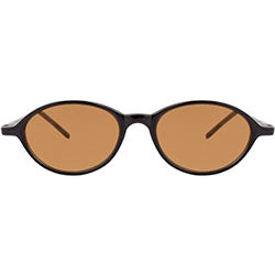 shaken black brown sunglasses