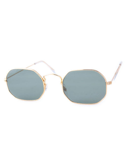 shale gold sunglasses