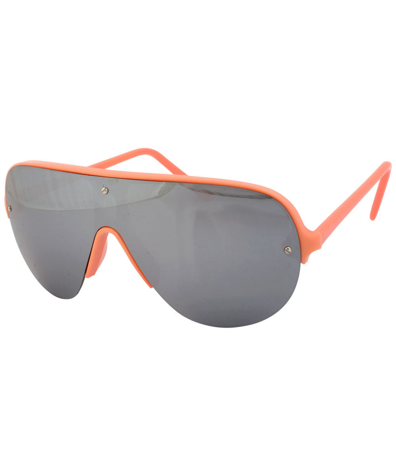 shapes orange sunglasses
