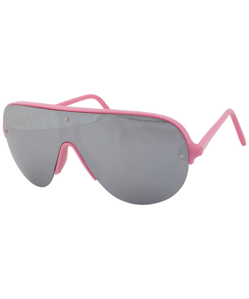 shapes pink sunglasses
