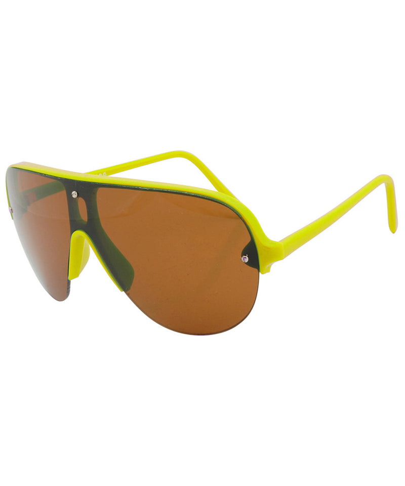 shapes yellow sunglasses