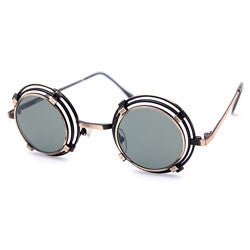 sheldon brass sunglasses