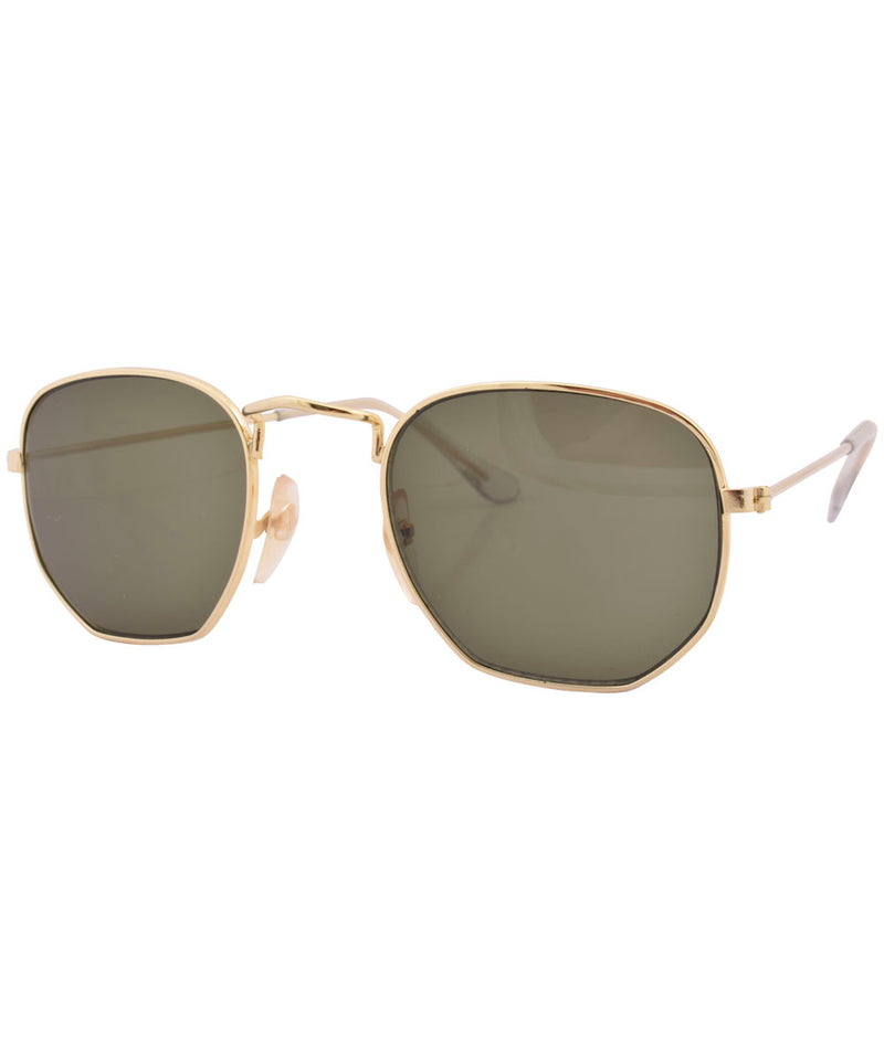 shire gold sunglasses