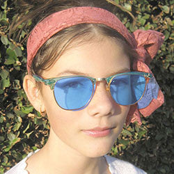 show pony blue sunglasses