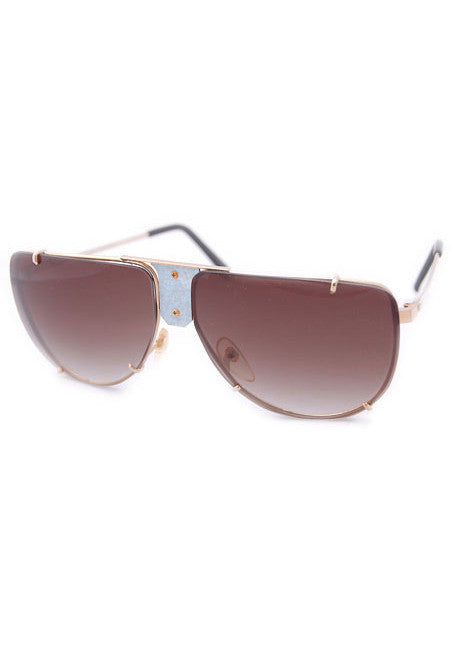 sierra gold powder sunglasses