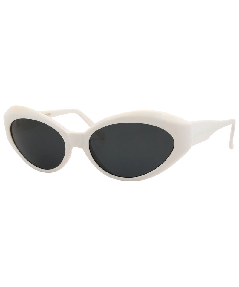sister k white sunglasses