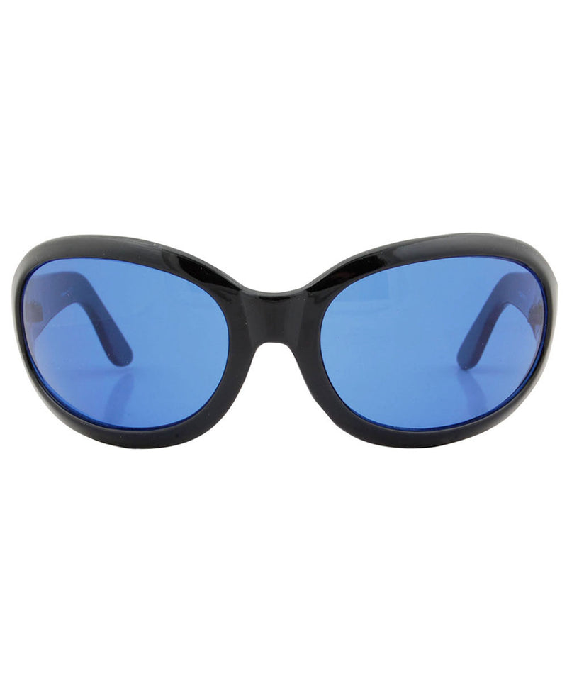 SIXTY SEVEN Black/Blue Raver Y2K Sunglasses