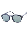 skeet black sunglasses
