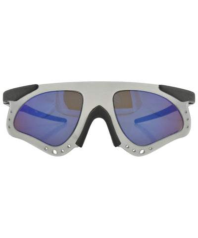skellie smoke blue sunglasses