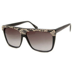 skin black sunglasses