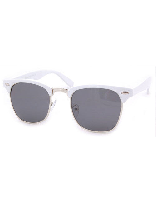 skipper white sunglasses