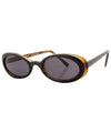 skunk black amber sunglasses