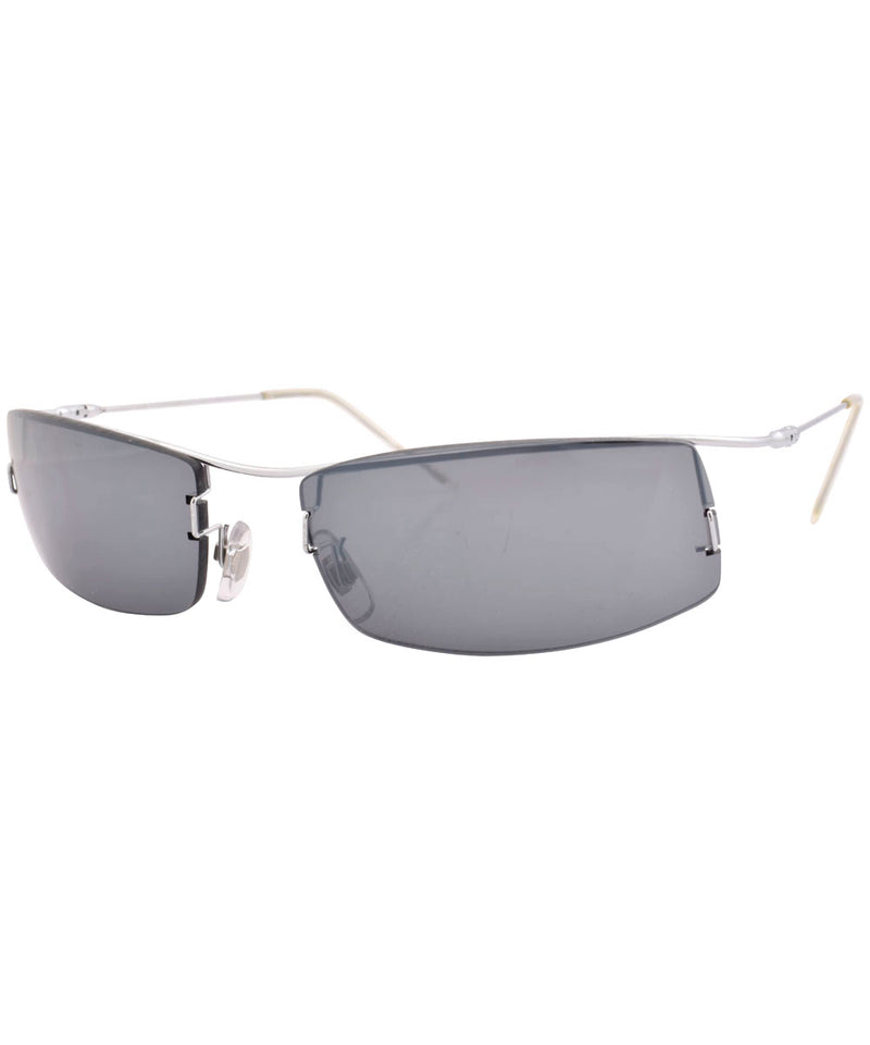 slicktator silver smoke sunglasses