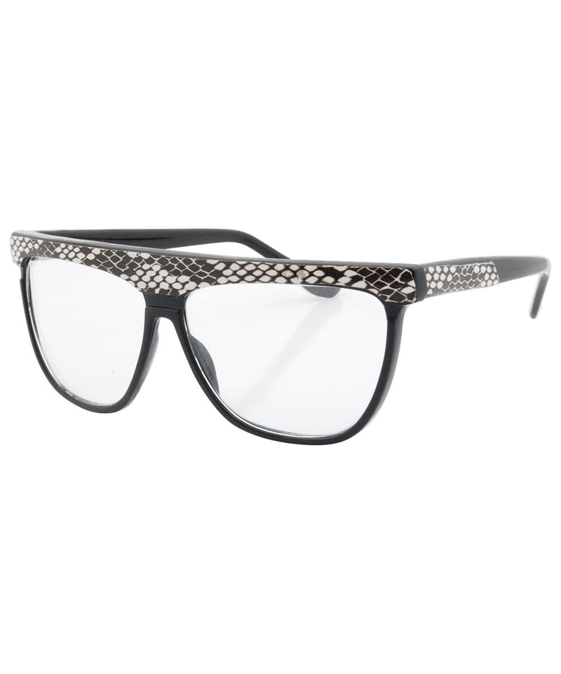 slink black white sunglasses