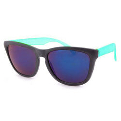 slurpee black aqua sunglasses
