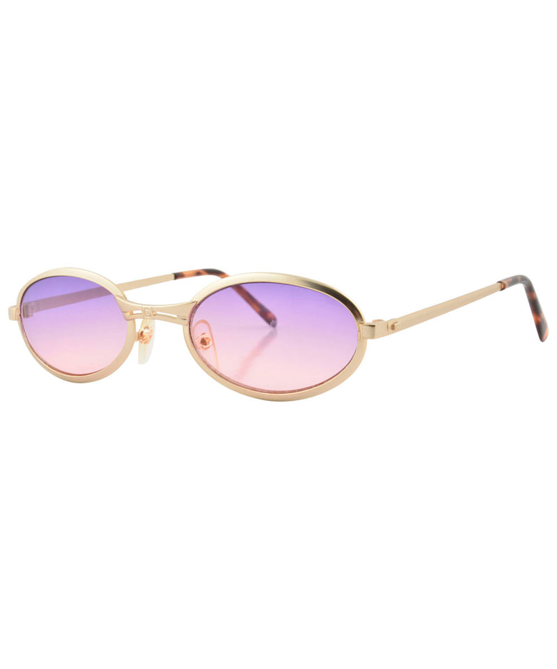 smootchie gold sunset sunglasses