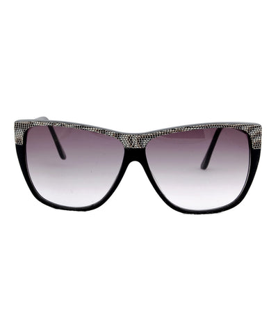 snakelite black sunglasses