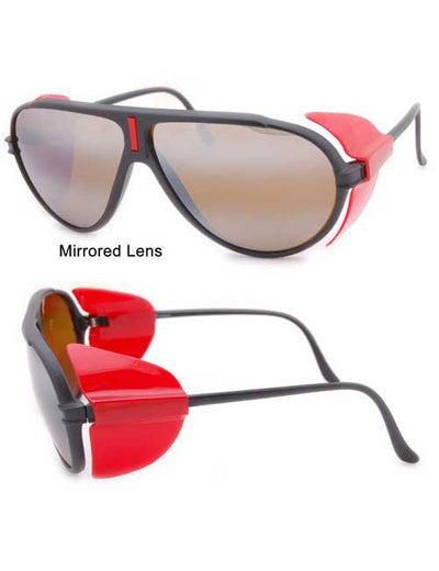 snow000 black red sunglasses