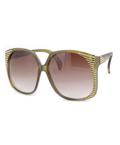 santa ana green sunglasses