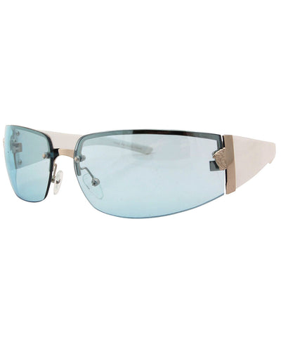 solstice blue white sunglasses