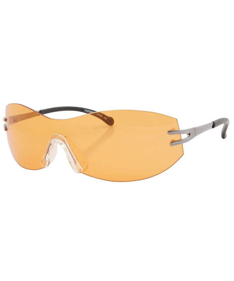 sonic orange sunglasses