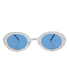 spaceland blue sunglasses