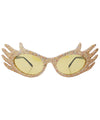 specialness gold sunglasses