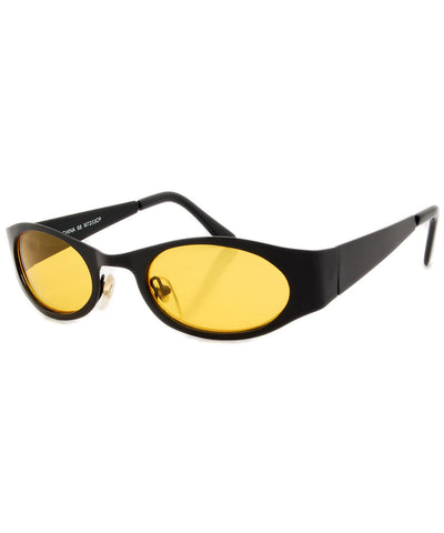 spike black sunglasses