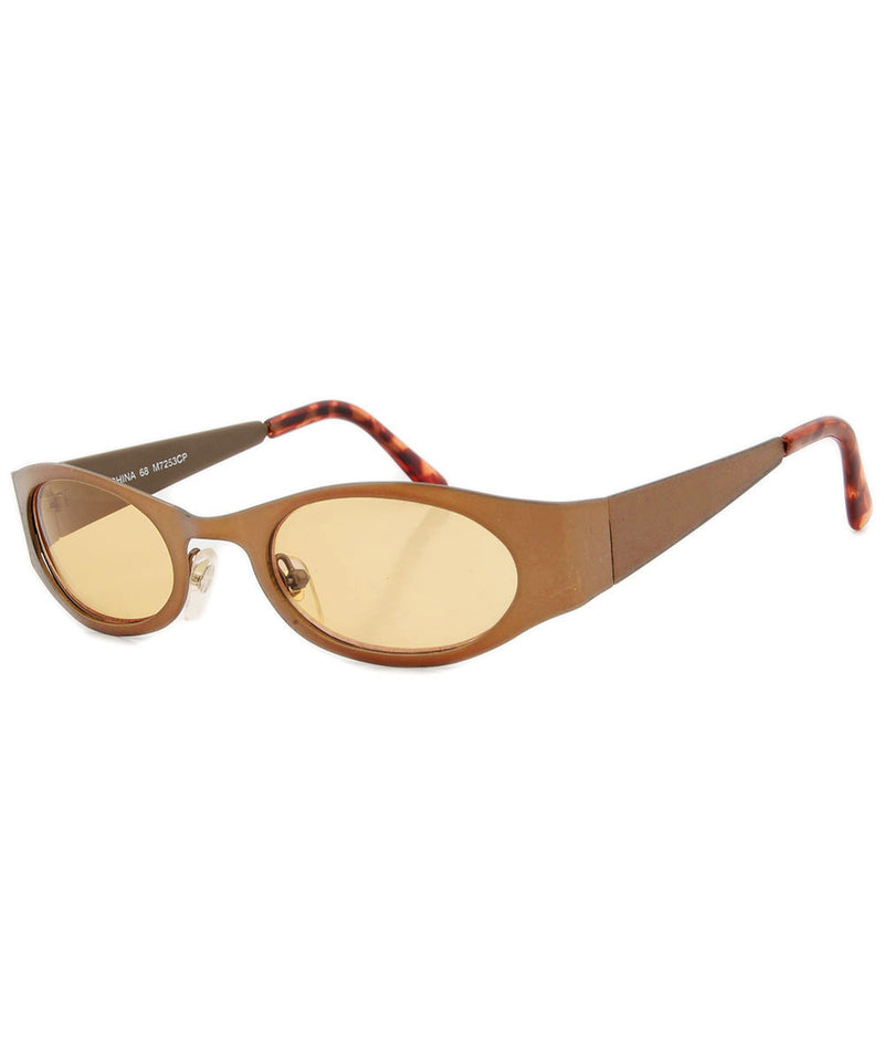 spike brass sunglasses