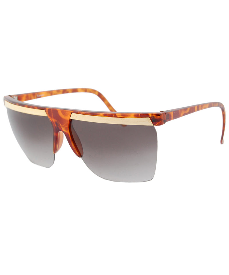 split tortoise sunglasses