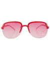 springy red star sunglasses