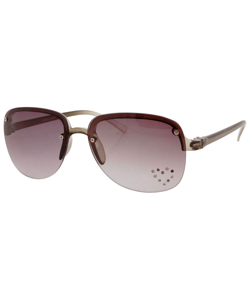 springy smoke heart sunglasses