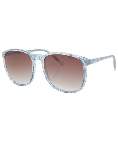 squeeze crystal blue sunglasses