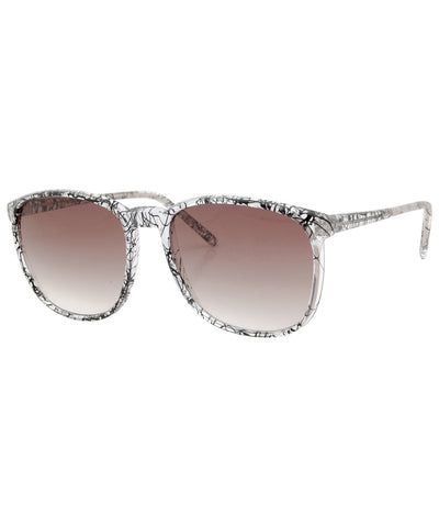 squeeze crystal black sunglasses