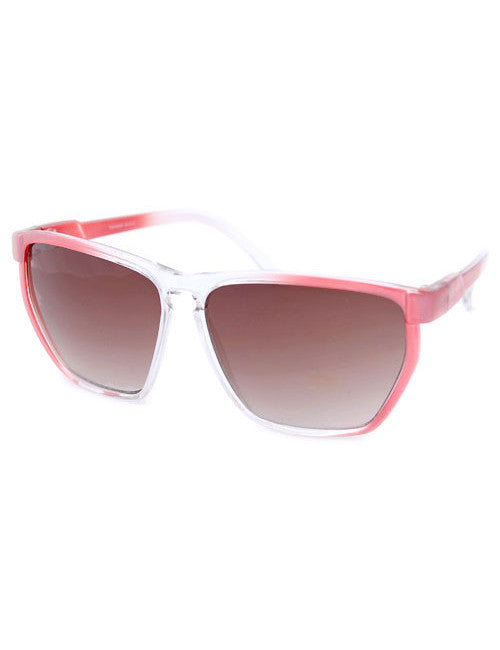 stage mom red sunglasses