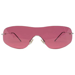 STARS Hot Pink Rimless Glasses