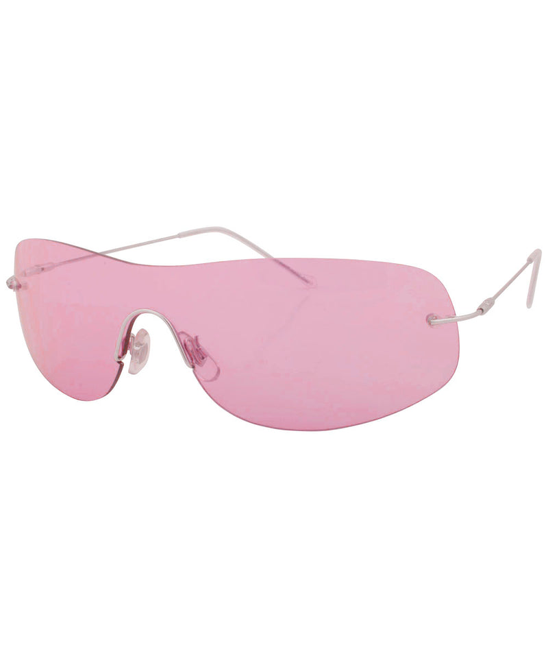 STARS Pink Rimless Glasses
