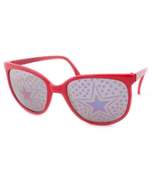 stardot red sunglasses
