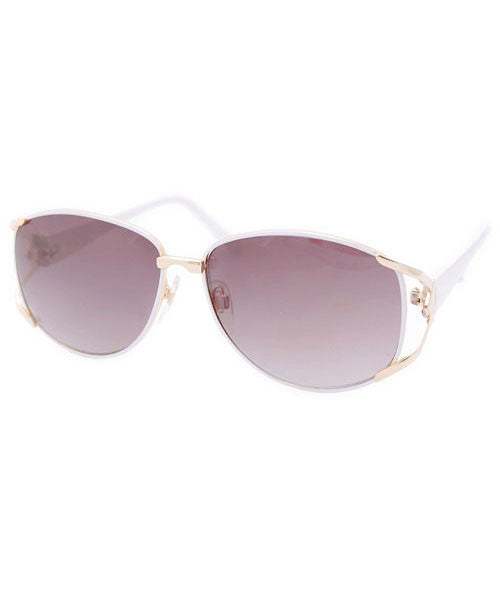 stella white gold sunglasses
