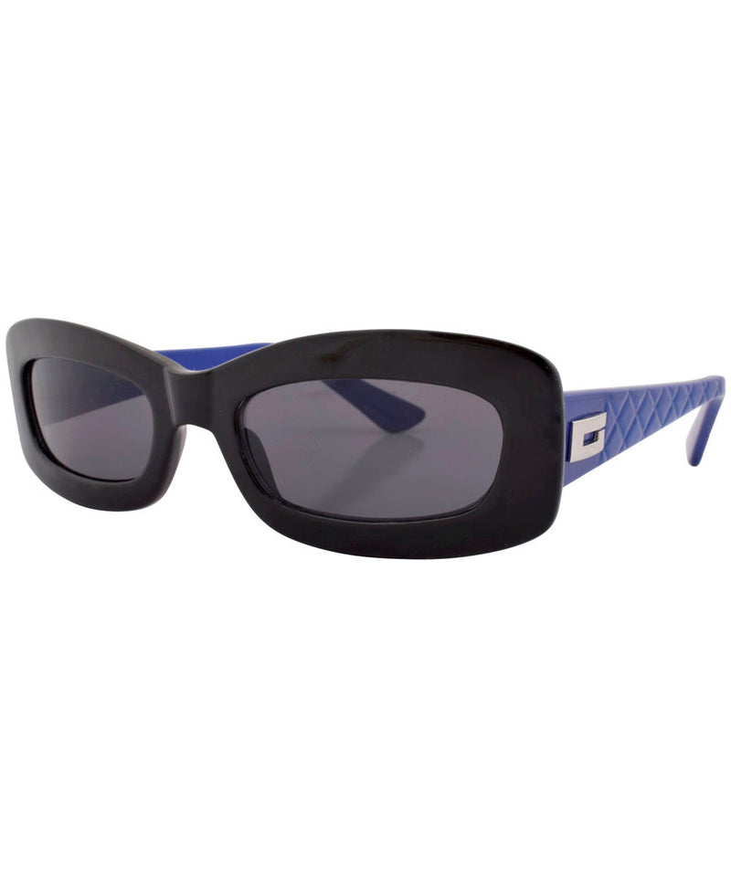 stones black blue sunglasses