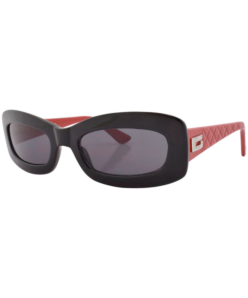 stones black red sunglasses