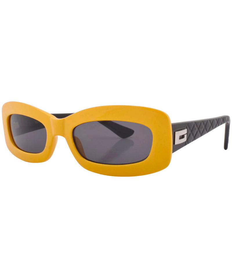 stones yellow black sunglasses