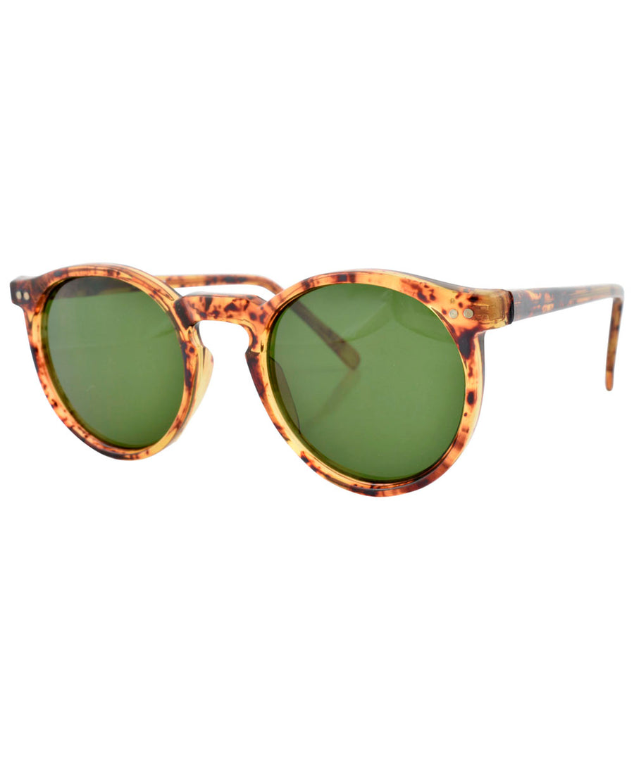 stoney demi green sunglasses