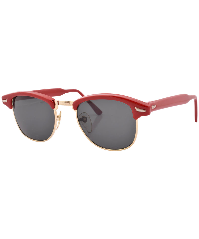 streak red sunglasses