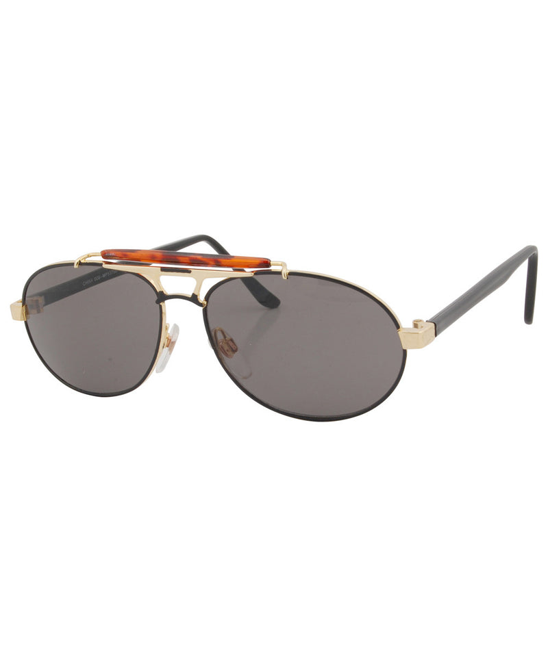 af6b21d97e submerge black gold sunglasses