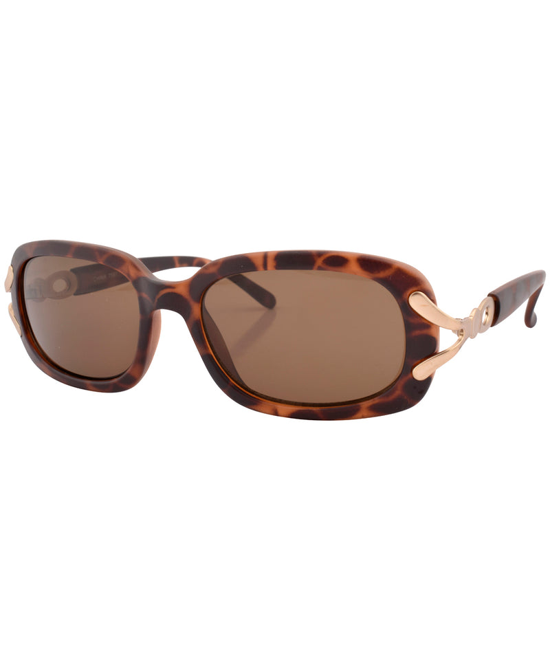 sunday matte tortoise sunglasses