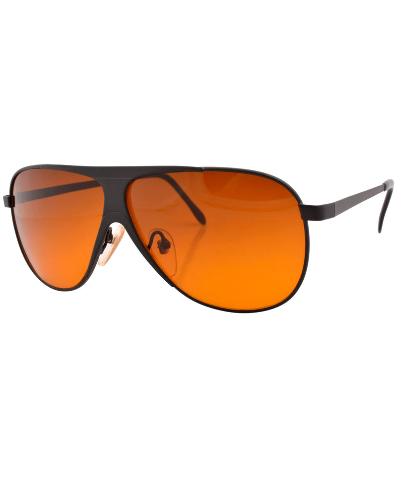 sunset black orange sunglasses