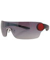 super black red sunglasses