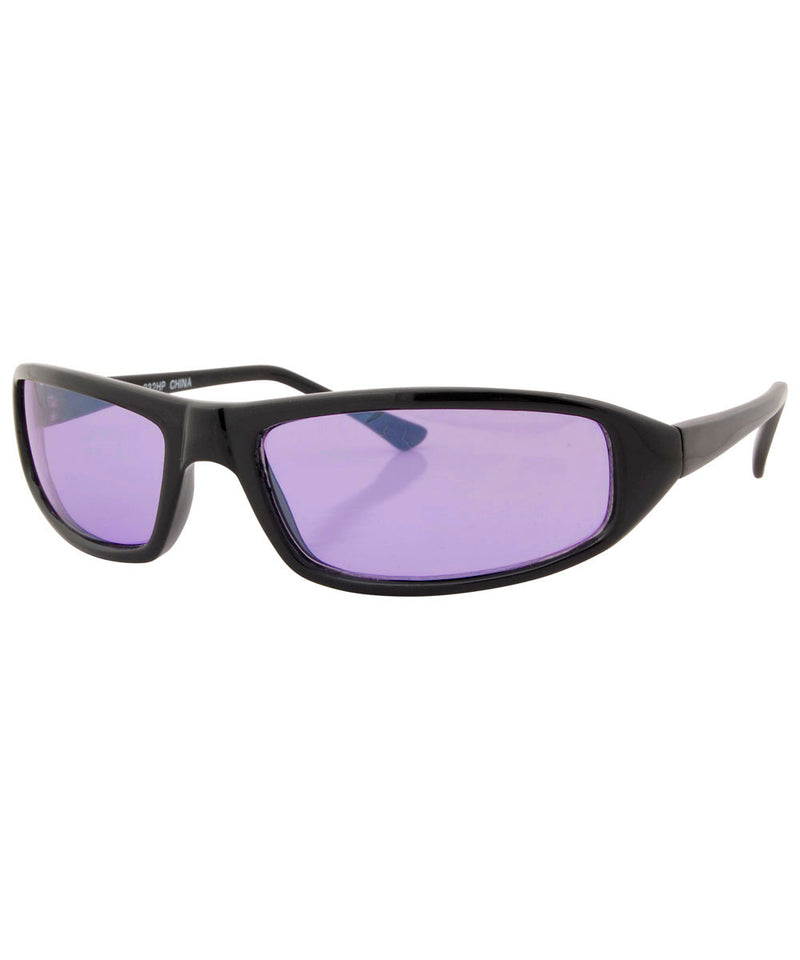 swain black purple sunglasses