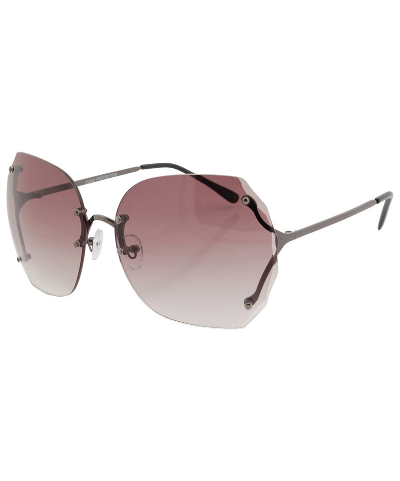 sweetness gunmetal sunglasses